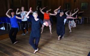 Danseforestilling, Choreomundusstudenter
