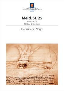 Forside, Stortingsmelding Humaniora i Norge (Meld. St. 25)