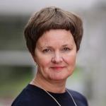 Portrettfoto av Anne Kristine Børresen, dekan